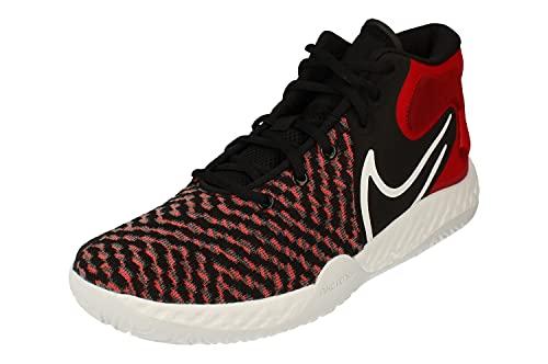 Nike KD Trey 5 VIII Hombre Basketball Trainers CK2090 Sneakers Zapatos (UK 8.5 US 9.5 EU 43, Black White University Red 002)