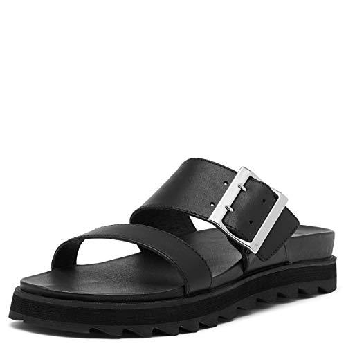 Sorel Women's Roaming Slide Sandal - Black - Size 5
