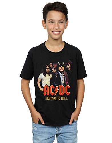 Absolute Cult ACDC Niños Highway To Hell Group Camiseta