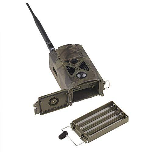 LUOZI Wildlife Kamera 16MP 1080P-Jagd-Kamera mit 120 ° Überwachung Winkel mit IR-Filter voll automatische Außen Scouting Kamera