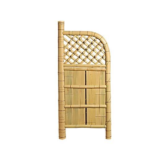 QBZS-YJ Cerca de bambú, huerto, decoración, pequeño Patio, Patio Pastoral, jardín, Cerca Decorativa, Pantalla, Cerca de bambú, Puerta, se Puede Utilizar a la inversa