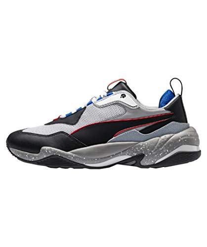 PUMA Damen Thunder Joggingschuhe Sneaker Grau 38.5 EU