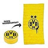 Borussia Dortmund - Asciugamano magico con muro giallo, Magic Towel BVB 09 (L)
