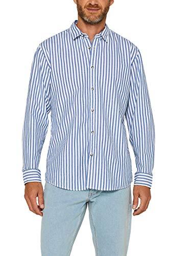 edc by Esprit 079cc2f003 Camisa, Azul (Blue 430), Large para