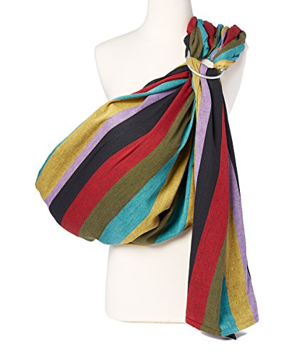 Hip Baby Wrap Ring Sling Baby Carrier for Infants and Toddlers (Autumn)