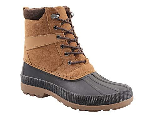 Amazon Essentials Men's Ankle Boot, Brown, 11 Medium US
