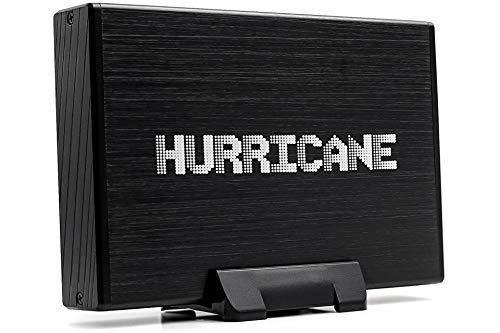 "Hurricane GD35612 6TB Aluminium Externe Festplatte, 3.5"" HDD USB 3.0, Desktop Festplatte 64MB Cache, Backup für PC, Laptop, Notebook, Windows, Mac OS, Linux, Xbox, PS4, SATA I/II/III"