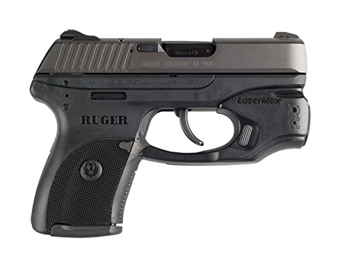 LaseMax CenterFire Laser /Light Combo (Red) CF-LC9-C-R With GripSense For Use With Ruger LC9/LC380/LC9s/EC9s