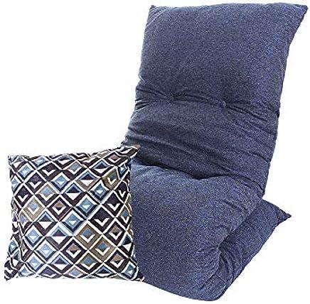 Futon Colchonete Dobrável Solteiro + Almofada Decorativa