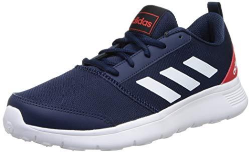 Adidas Men's Adivat M Running Shoe- Conavy/FTWWHT/VIVRED, 9 UK