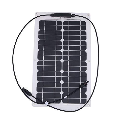 nuzamas 20 W 12 V Panel Solar de batería SunPower celda Ultra...