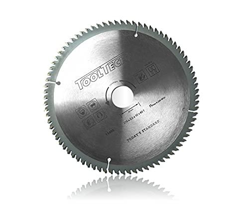 Lama professionale per sega circolare 210 x 30 mm per HM NE Metall 80 Z 3 anelli riduttori, lama per sega circolare in alluminio e plastica (1 lama per sega circolare)