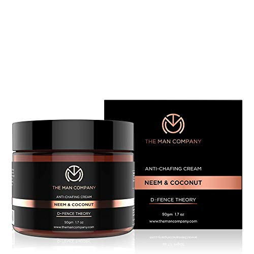 THE MAN COMPANY Anti Chafing Cream for men, Anti Chafe Cream – Natural Chafing Balm for Fungal Prevention & Relief (1.7 oz) – Anti Friction for Runners, Cycling, Thighs rub – Soothing, Itch Relief