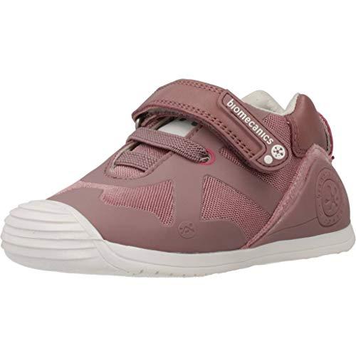 Biomecanics 191168, Zapatillas de Estar por casa Unisex bebé Rejillas Color Rosa (Malva) Talla 23