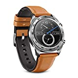 PADY Original Honor Watch Magic Outdoor NFC Smart Watch Sleek Slim Long Battery Life GPS Scientific Coach 1.2 inch HD AMOLED 390x390 Color Screen Activity Tracker 5ATM Waterproof (Moonlight Silver)