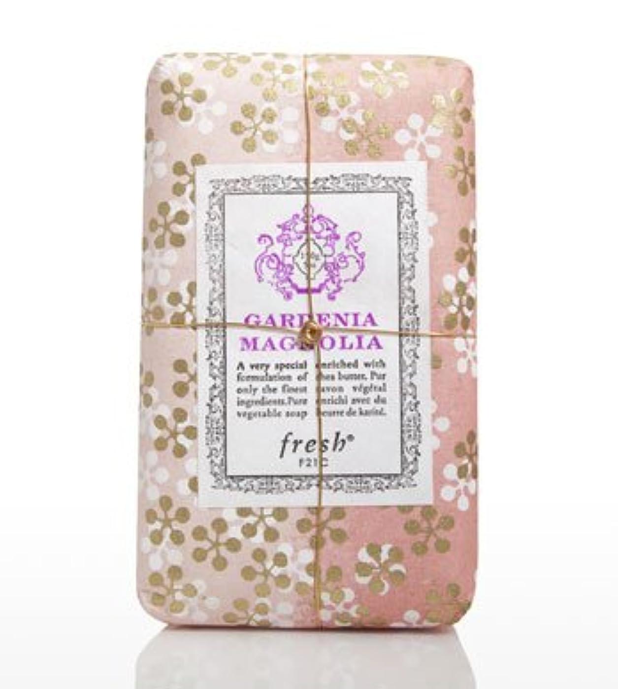 磁器下手はげFresh GARDENIA MAGNOLIA SOAP(フレッシュ ガーデナマグノリア ソープ) 5.0 oz (150gl) 石鹸 by Fresh