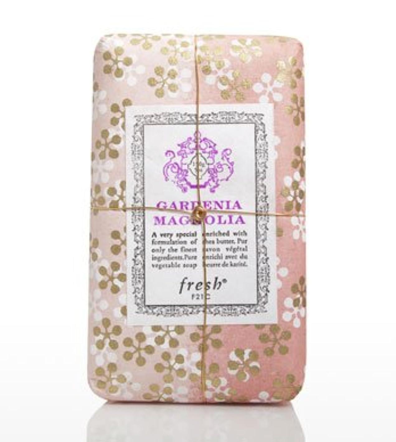 海峡ひも年金従うFresh GARDENIA MAGNOLIA SOAP(フレッシュ ガーデナマグノリア ソープ) 5.0 oz (150gl) 石鹸 by Fresh