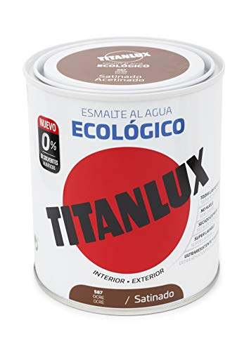 Titanlux Titan Ecológico Esmalte al Agua Satinado 250 ml (O