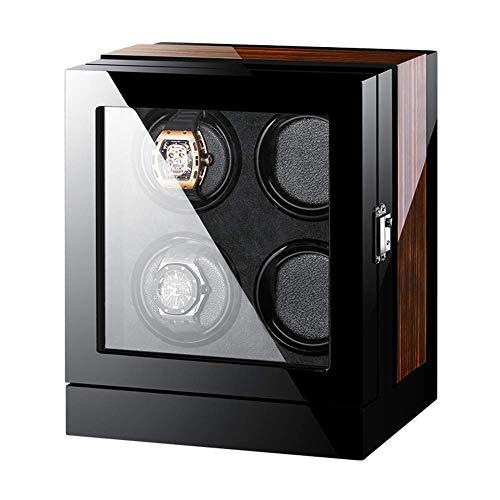 N\C Uhrenbeweger für automatische Uhren Piano-Finish LCD-Display Touchscreen Eingebaute Beleuchtung Fit Mann Frauen Uhren
