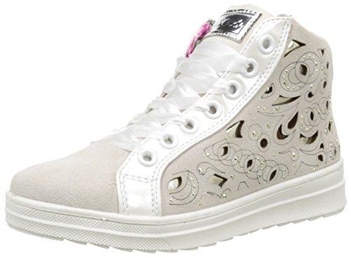 Asso 39102, Sneakers Hautes Fille, Blanc (White), 31 EU