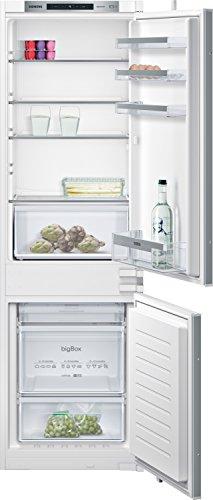 Siemens Réfrigérateur-congélateur KI86NVS30 iQ300 - A++ - 177,20 cm de hauteur - 22 kWh/an - Partie réfrigérateur : 67 l - Pas de givre - Technologie de porte coulissante.