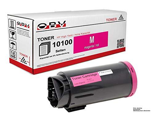 OBV XL Toner kompatibel als Ersatz für Xerox 106R03905 für XEROX VERSALINK C600N C600DN C600DT C600DX C600DXF C600DXP C605X C605XF C605XP C605XTF C605XTP - 10100 Seiten Magenta