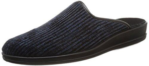 Rohde Herren Lekeberg Pantoletten, Blau (Ocean), 47 EU