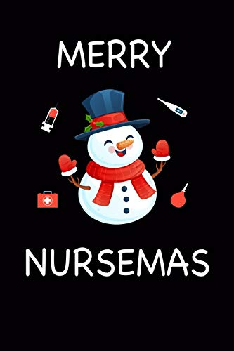Merry Nurse.: Nurse Practitioner Gifts Women. | Christmas Gifts for nurse Journal Notebook. | 6*9 Lines Paper. | 110 Page.