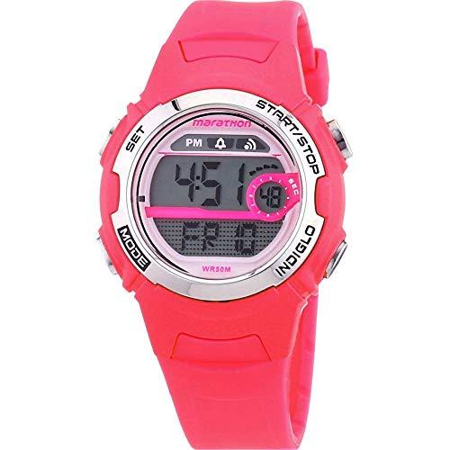 Timex Mädchen-Armbanduhr Marathon By Timex Digital Quarz Plastik T5K771