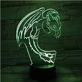 Comment Former Votre Dragon Nuit lumière Illusion capteur Tactile Enfants Enfants...