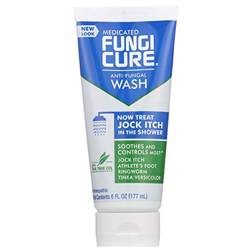 FungiCure Medicated Anti-Fungal Jock Itch Wash - Treat Jock Itch in The Shower - 6 fl oz