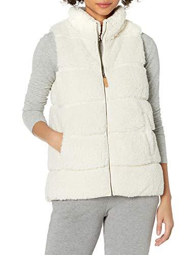 PJ Salvage Women's Loungewear Cozy Cuddlers Vest, Stone, S