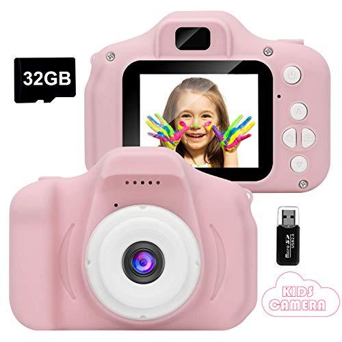 GlobalCrown Appareil Photo pour Enfants,Mini Caméra...