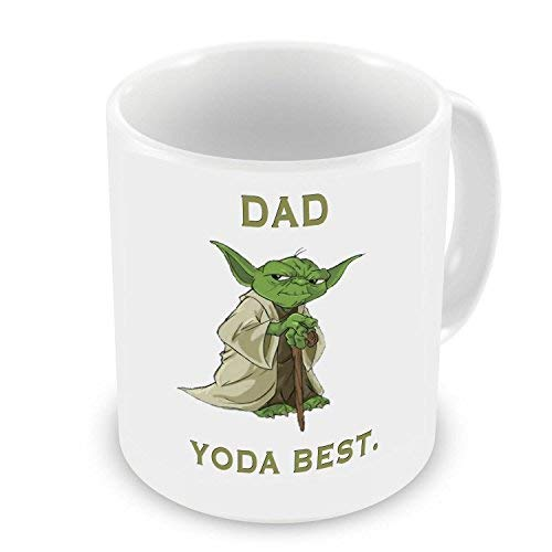 GrassVillage Dad Yoda Best Novelty Gift Mug...