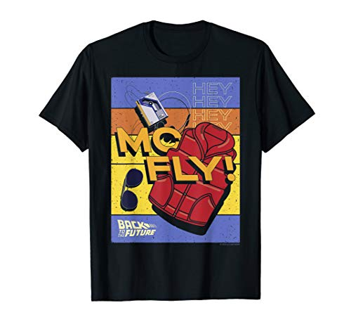 35th Anniversary McFly Accessories Poster T-Shirt, Adult and Youth Sizes