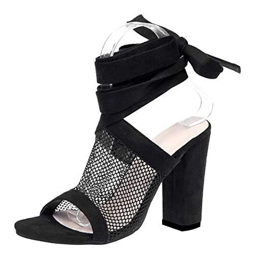 Yudesun Zapatos Mujer Sandalias Vestir - Verano Strappy