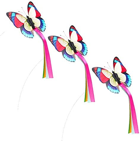 Moonshuttle Automatic Butterfly Flying Cat 3pcs 5% OFF Outlet ☆ Free Shipping Replace Toy with