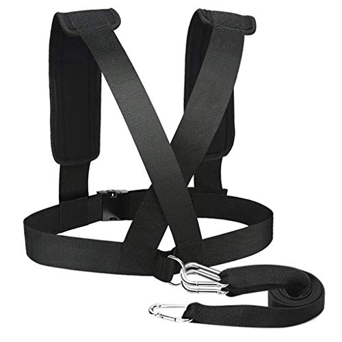 YU-OVER Anti-Resistance Training Belt Running Assist Speed Practice Pull Belt Sports Weight-Bearing Running Equipment Weighting Exercise Strap