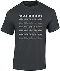 Camiseta Think Different Regalo Ciclistas