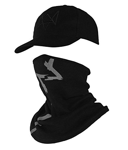 Xfang Embroidered Baseball cap and breathable bird eye cloth fabric mask (Cap+Mask)