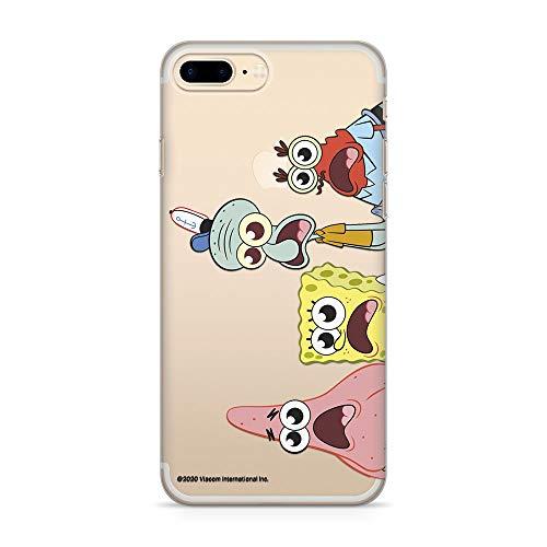 ERT GROUP Original Spongebob Handyhülle Spongebob 013 iPhone 7 Plus/ 8 Plus Phone Case Cover, Mehrfarbig, NPCSBOB5752