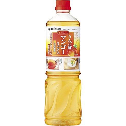 《セット販売》 ミツカン ビネグイット りんご酢 マンゴーミックス 6倍濃縮タイプ (1L)×8本セット リンゴ酢