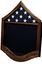 Air Force Military Shadow Box by Ridgecrest - American Grown Hardwood - Customize Now Rank: MSgt (E-7)