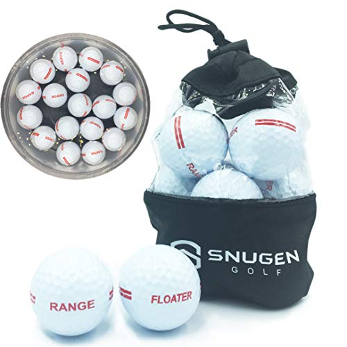 Cheapest Price! Snugen (TM) Floater Golf Ball, Practice Floating Ball