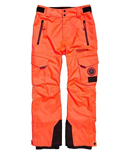 Superdry Snow Pants Pantalón Hombre Hyper Orange XXL