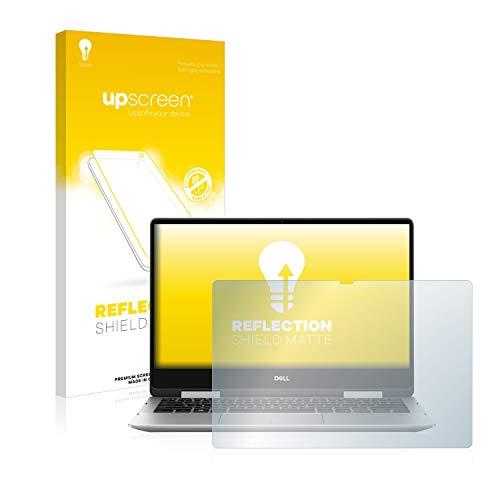 upscreen Entspiegelungs-Schutzfolie kompatibel mit Dell Inspiron 13 7386 2-in-1 – Anti-Reflex Bildschirmschutz-Folie Matt