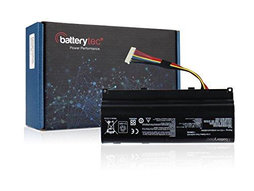 Batterytec® Laptop Batterie für ASUS A42N1403, ASUS G751 ASUS GFX71 GFX71J GFX71JM GFX71JT ASUS ROG G751 [15V 4400mAh, 12 Monate Gewährleistung]
