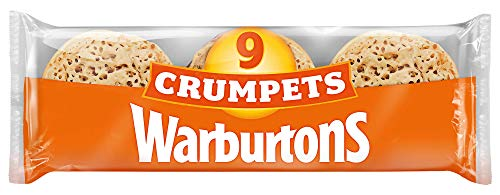 Warburtons Crumpets, Pack of 9