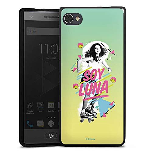 DeinDesign Silikon Hülle kompatibel mit BlackBerry Motion Hülle schwarz Handyhülle Soy Luna Disney Serienmotiv