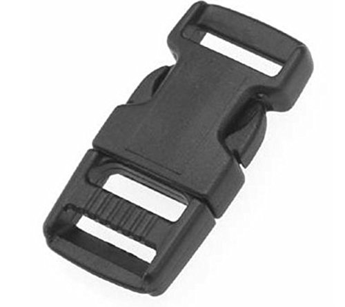 25 Pack 5//8 Inch National Molding Mojave® Plastic Buckles